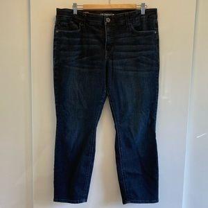 Slim leg slimming jeans size 16 Petite Short